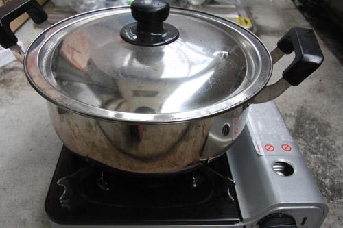 燻製鍋の使い方