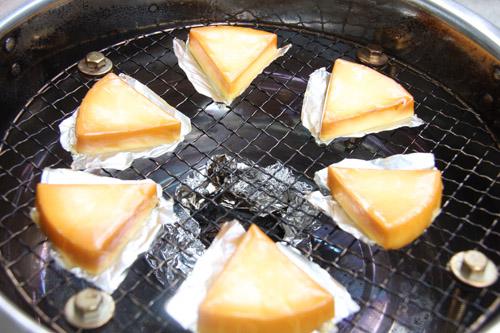 6pチーズ燻製完成
