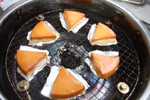 おいしい燻製チーズ