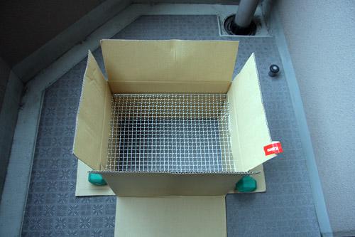 段ボール燻製器の作り方