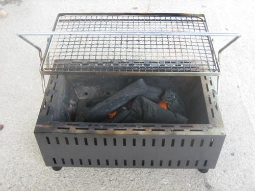 BBQ炭のおこし方