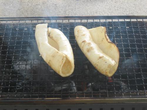 イカの燻製BBQコンロ