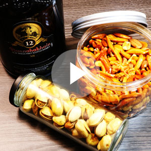 燻製ナッツの作り方動画