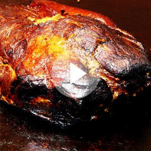 豚肉BBQスモーク作り方動画