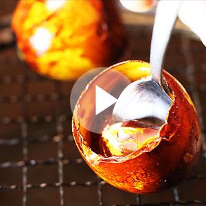 燻製半熟卵の作り方動画